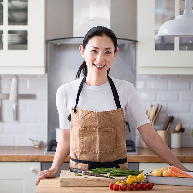 Japanese cooking teacher Atsuko Ikeda