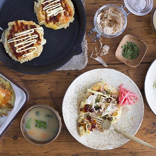 Online Okonomiyaki Class