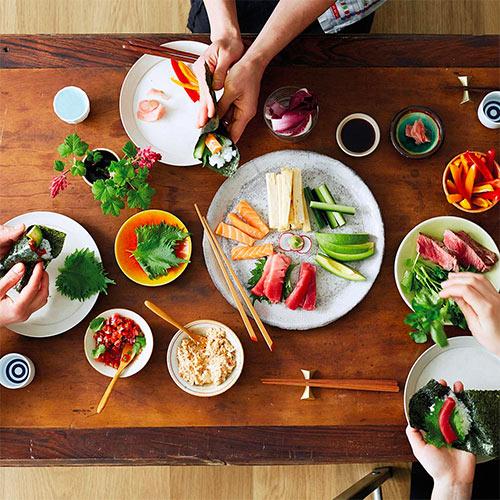 Sushi Making Class with Noriko Tanaka