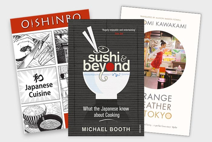 Books about Japanese food