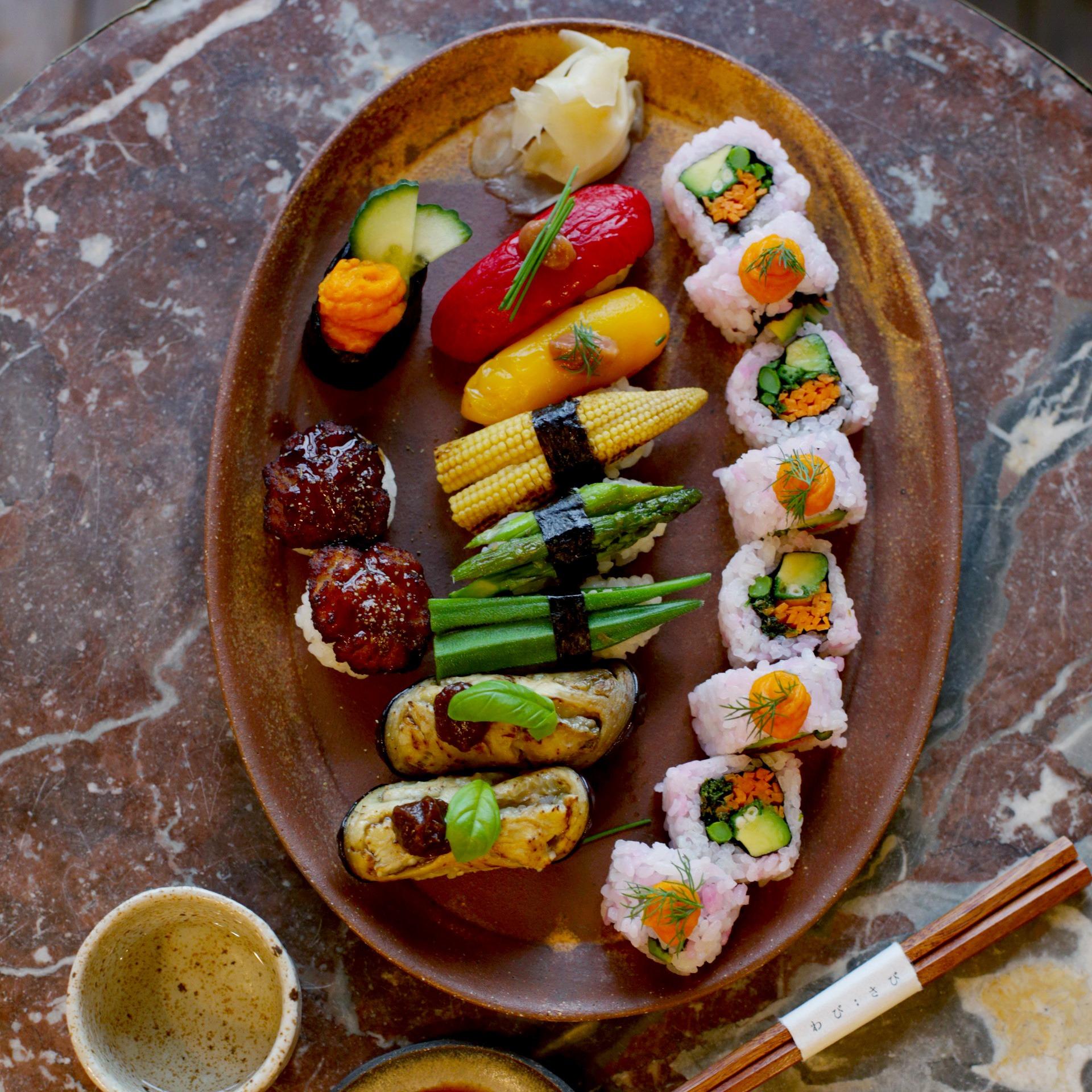 Online Vegan Sushi Making Class
